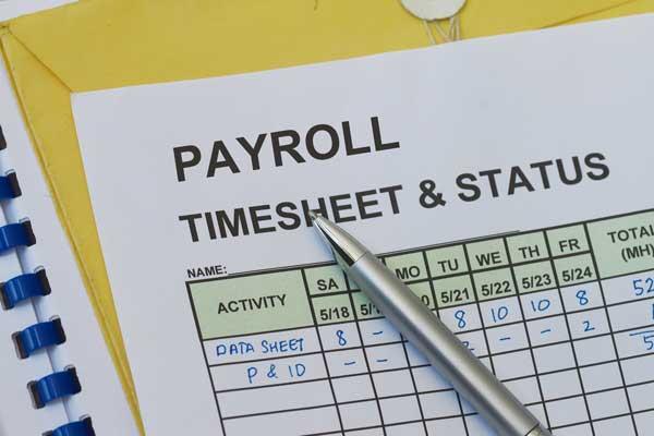 Payroll calendar