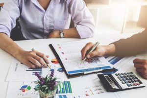 the order of financial statements